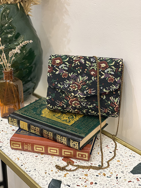 bolso tapestry flores
